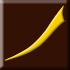 brązowy, matowy z żółtym dekorem (E)